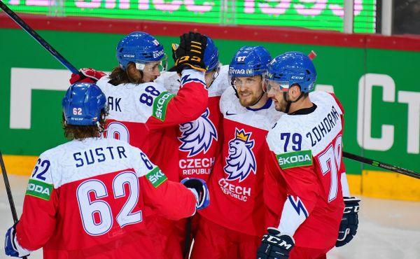 Vysoká výhra nad Slovenskem, ve čtvrtfinále proti Finsku