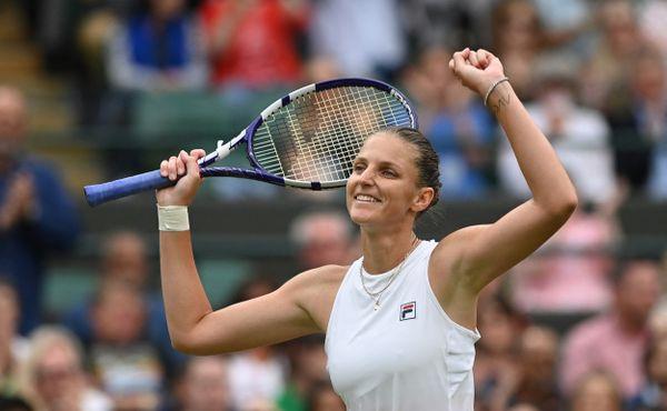 Karolína Plíšková neztratila na Wimbledonu ani set a je v semifinále!