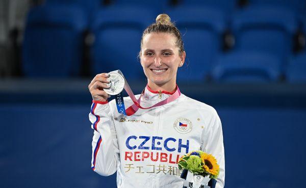 Medailová sbírka roste. Vondroušová má olympijské stříbro!