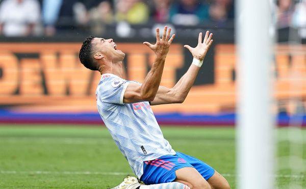 Ronaldo opět skóroval, West Ham v nastavení neproměnil penaltu